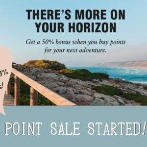 2021年2月 マリオットのポイントボーナスセールがスタート!今回は40%~50%のボーナス ポイント購入をもっとお得にする方法を解説