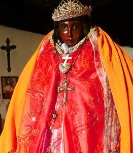 南フランスの女神聖女サラの神聖意識が働く出雲の神様鑑定 黒いマリアバージョン 岡山県Iさん後半
