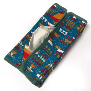 オーサムストアの『ティッシュカバー Wind』で箱ティッシュがオシャレで便利!