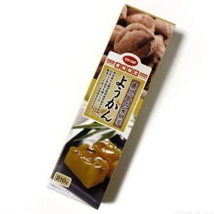 コープの『鹿児島の安納芋ようかん』が甘くて美味しい!