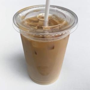 コストコの『アイスカフェラッテ』が半分ミルクで超おいしい!