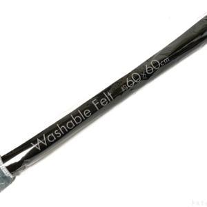 100均の『洗えるカラーフェルト(60×60cm)』が黒色で大きくて便利!