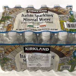 コストコの『カークランド イタリアン スパークリングウォーター』がオシャレ炭酸水!