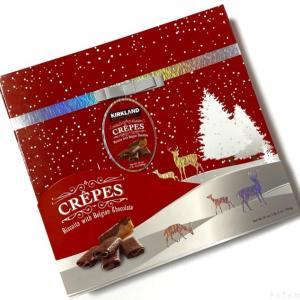コストコの『カークランド  チョコレートクレープ 566g』がサクサク甘くて美味しい!
