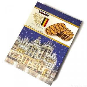 コストコで『カークランド BELGIAN WAFFLE CRISPS』がワッフルクリスプにチョコで超おいしい!