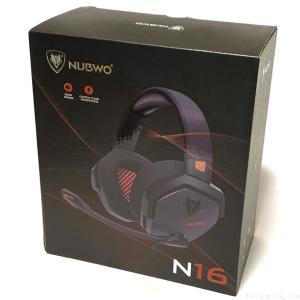 Amazonで『NUBWO N16 PCヘッドマウントゲーミングヘッドセット』買ってみました!