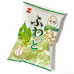 岩塚製菓の『ふわっと 枝豆味』がさくっと美味しい!