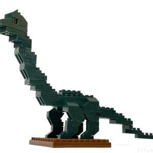 100均セリアの『ブラキオサウルス(キッズブロック)』が大きくてカッコイイ!