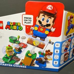 レゴ『スーパーマリオ マリオと冒険のはじまりスターターセット』が面白い!