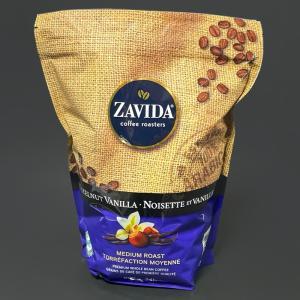 コストコの『ザビダコーヒー ヘーゼルナッツバニラホールビーンコーヒー907g』が甘い香りと苦味で超おいしい!