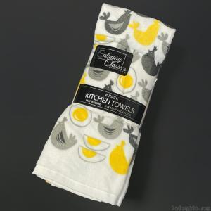 コストコの『クリナリークラシック キッチンタオル 8枚パック とり&たまご』がオシャレで可愛いデザイン!