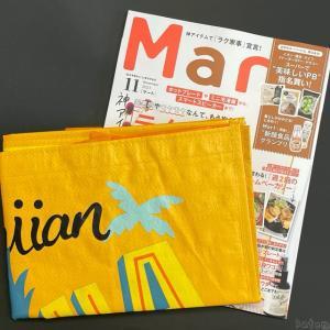 コストコの『Mart(マート)2021年11月号』はパイナップルの黄色のエコバッグ付き!