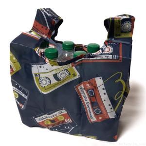 オーサムストアのエコバッグ『Eco Bag Lunch Cassette』がカセットテープのデザインで可愛い!