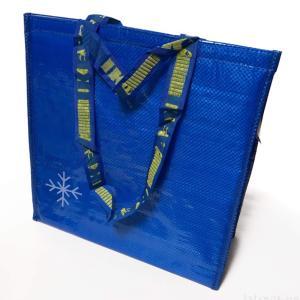 IKEAの保冷バッグ『フラクタ』が青色に結晶デザインで可愛い!