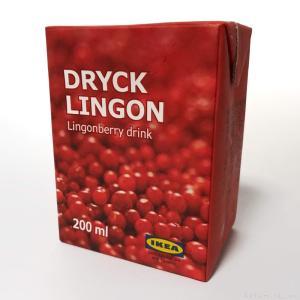 IKEAのリンゴンベリードリンク『ドリュック・リンゴン』が甘酸っぱくて美味しい!