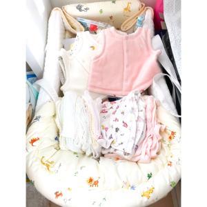 赤ちゃん準備収納、ウタマロ掃除など