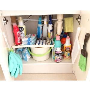 洗面所下、キッチン、クローゼットの収納をダイソーの物でひと工夫