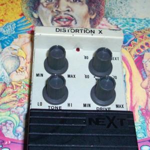 掘り出し物かどーか微妙なジャンク品を行きつけの楽器屋でゲット NEXT DISTORTION X