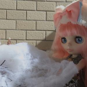 ピンク髪の白猫黒猫☆