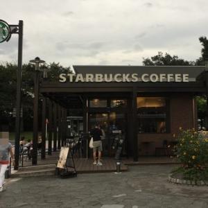 久し振りに、スターバックスコーヒー上里SA下り線店(埼玉県上里町)