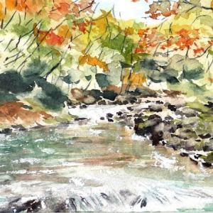 武蔵嵐山の紅葉
