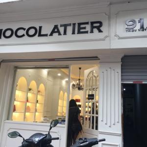 ベルギーのチョコレート屋さん