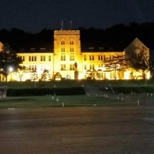 思い出の高麗大学の散歩
