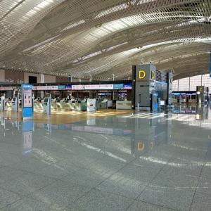 仁川空港の様子と再入国許可をとる。
