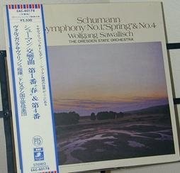 サヴァリッシュ:Schumann Sym No.4 (更新)