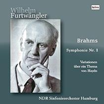 フルトヴェングラー:Brahms Sym No.1(3枚)