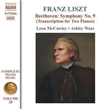 F.リスト:Beethoven Sym No.9 (2台のピアノ編)