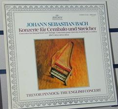 J.S.Bach:Cemb Con No.1 (2枚)