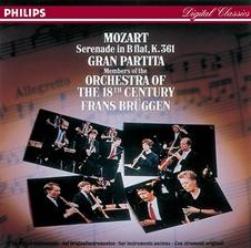 ブリュッヘン:Mozart Gran Partita K.361