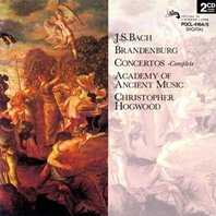 C.ホグウッド:Bach Brandenburg Con (1984)