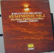 C.アバド:Brahms Sym No.2【'71 独LP】(更新)