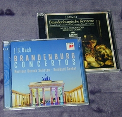 R.ゲーベル:Bach Brandenburg Con(新・旧)