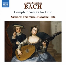 今村泰典:リュートによる Bach リュート作品