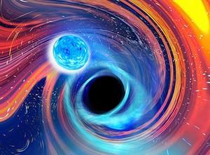 中性子星とBHの合体を観測