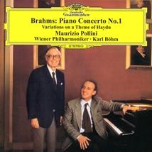 ポリーニ&ベーム:Brahms piano Con No.1