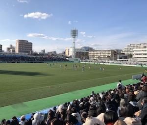 全日本大学女子サッカー日本体育大学VS早稲田大学