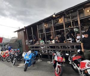 ライダーズカフェ・インザシー・2スト祭り
