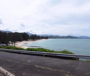 全米No1ビーチ・ハワイ・ラニカイビーチ