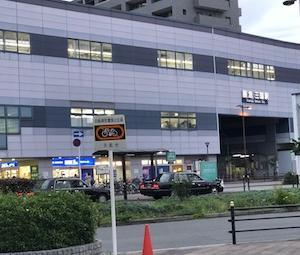阪急三国駅前のマクドナルドよりUber配達!