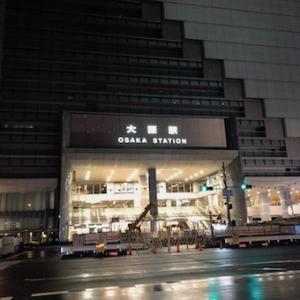 深夜の大阪・船場カリーUberEats配達へ