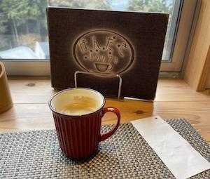 ライダーズカフェ・ほんたき山のカフェへ