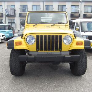 Jeep を 予備検査 登録 しました。キラスタイルは どんな お車でも 柔軟に 対応し 車検 を 通します。