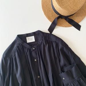 〇〇7月1日!*置き画*届いたカンカン帽 yuni oversizedブラウス…1日ワンダフルデー〇〇