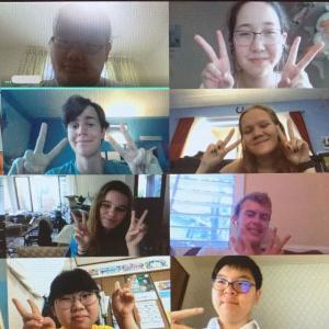 【高校生向け】アメリカの高校生とのオンライン交流プログラム