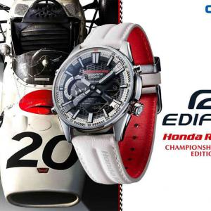 EDIFICE×Honda Racing限定モデル