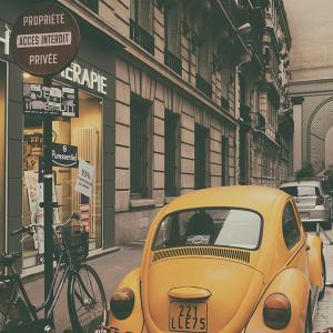 パリの思い出:6年前の今日撮った写真
